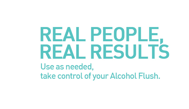 Take control of your Alcohol Flush
